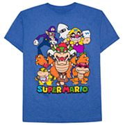 Boys 8-20 Super Mario Bros. Gang Tee