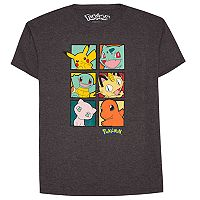Boys 8-20 Pokemon Squares Tee