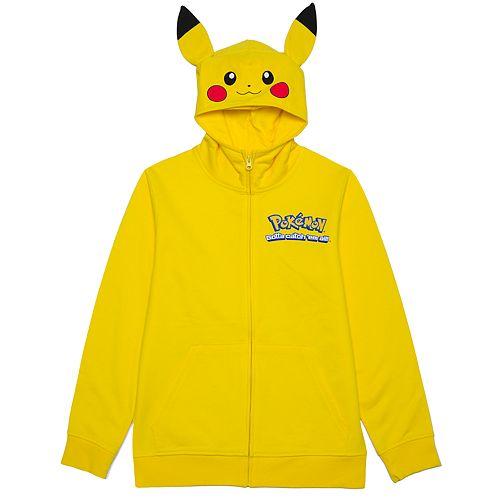 Boys 8-20 Pokemon Pikachu Hoodie