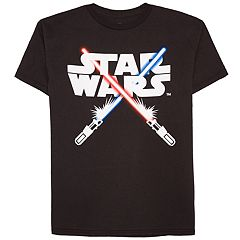 Boys 8-20 Star Wars Lightsabers Tee