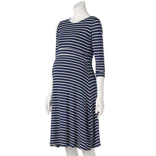Maternity Pip & Vine by Rosie Pope Layered Nursing Dress