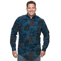 Big & Tall Croft & Barrow® Regular-Fit Twill Button-Down Shirt
