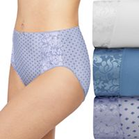 Bali 3-pack Double Support Hi-Cut Panties DFDBH3