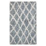 Nourison Morocco Intricate Lattice Shag Rug - 2'6'' x 4'