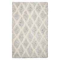Nourison Morocco Intricate Lattice Shag Rug - 2'6'' x 4'