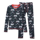 Boys 4-18 Cuddl Duds Star Wars 2 pc Base Layer Set