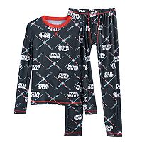 Boys 4-18 Cuddl Duds Star Wars 2-Piece Base Layer Set
