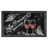 Nourison Accent Decor ''Love Wine'' Rug