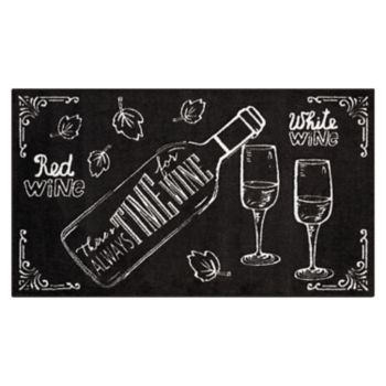 Nourison Accent Decor ''Time for Wine'' Rug