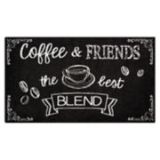 Nourison Accent Decor ''Coffee & Friends'' Rug