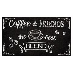 Nourison Accent Decor ''Coffee & Friends'' Rug