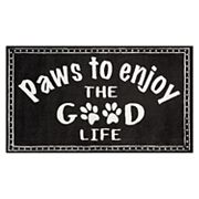 Nourison Accent Decor ''Paws Good Life'' Rug