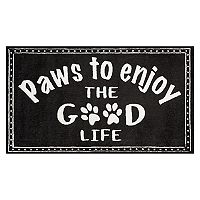 Nourison Accent Decor ''Paws Good Life'' Rug