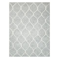 Nourison Galway Waves Lattice Shag Rug