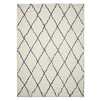 Nourison Galway Threadwork Lattice Shag Rug