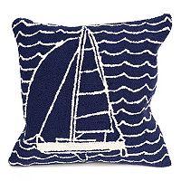 Liora Manne Frontporch Sails Indoor Outdoor Throw Pillow
