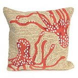 Liora Manne Frontporch Octopus Indoor Outdoor Throw Pillow