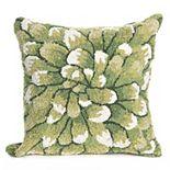 Liora Manne Frontporch Mum Indoor Outdoor Throw Pillow