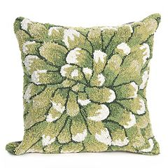 Liora Manne Frontporch Mum Indoor Outdoor Throw Pillow