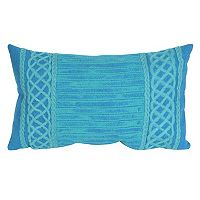 Liora Manne Visions II Celtic Stripe Indoor Outdoor Oblong Throw Pillow