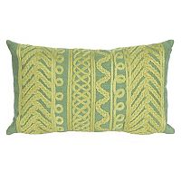 Liora Manne Visions II Celtic Grove Indoor Outdoor Oblong Throw Pillow