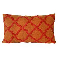 Liora Manne Visions II Crochet Tile Indoor Outdoor Oblong Throw Pillow
