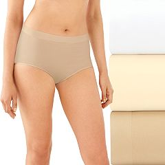 Bali 3-pack One Smooth U All Over Smoothing Brief Panties DFA361