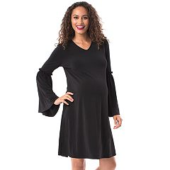 Maternity Pip & Vine by Rosie Pope Ruffle Shift Dress