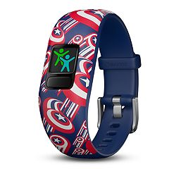 Garmin vívofit jr. 2 Marvel Captain America Adjustable Kids Activity Tracker