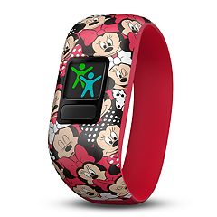 Garmin vivofit jr. 2 Stretchy Activity Tracker - Minnie Mouse