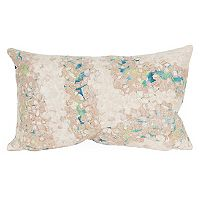 Liora Manne Visions III Elements Indoor Outdoor Oblong Throw Pillow