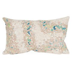 Liora Manne Visions III Elements Indoor Outdoor Oblong Throw Pillow