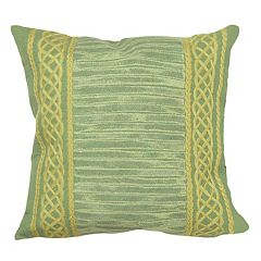Liora Manne Visions II Celtic Stripe Indoor Outdoor Throw Pillow