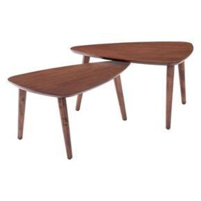 Zuo Modern Koah Nesting Coffee Table 2-piece Set