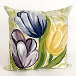 Liora Manne Visions III Tulips Indoor Outdoor Throw Pillow