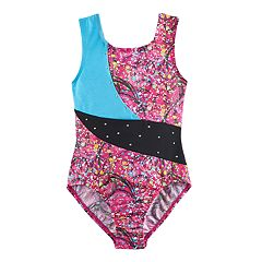 Girls 4-14 Jacques Moret Amazing Dots Leotard