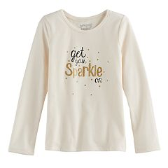 Girls 4-10 Jumping Beans® New Year's Graphic Tee