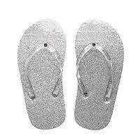 Girls 4-16 Glitter Jelly Flip-Flops