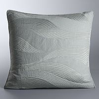 Simply Vera Vera Wang Sculptural Wave Euro Sham