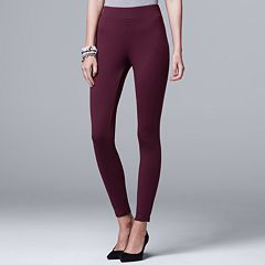 Women's Simply Vera Vera Wang Pull-On Ponte Skinny Pants