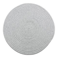 Food Network™ Round Gray Placemat