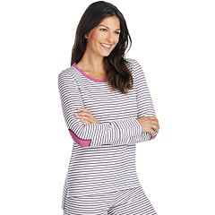 Women's Jockey Pajamas: Contrast Crewneck Sleep Shirt
