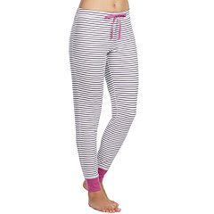 Women's Jockey Pajamas: Contrast Cuff Pants