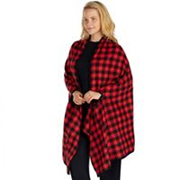 Plus Size Cuddl Duds Pajamas: Cozy Cabin Wrap