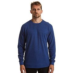 Men's Stanley Classic-Fit Waffle-Weave Thermal Pocket Tee