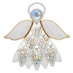 Two Tone Angel Pin