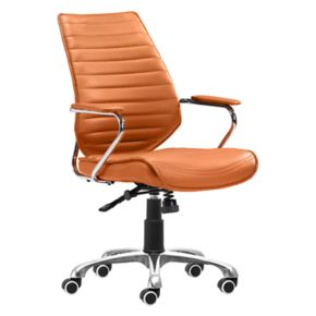 Zuo Modern Faux-Leather Desk Chair
