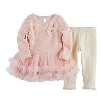 Baby Girl Nannette Tutu Dress & Legging Set