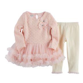Baby Girl Nannette Tutu Dress & Legging Set