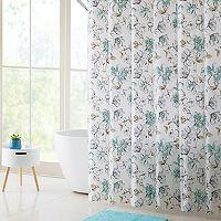 VCNY Delilah Shower Curtain, Bath Rug & Hook Set